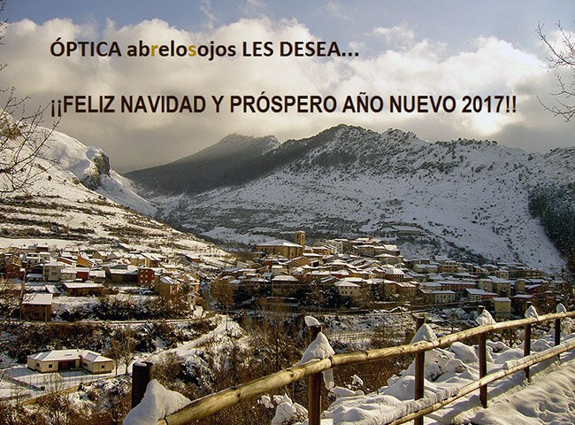 Feliz Navidad y Próspero Año 2017